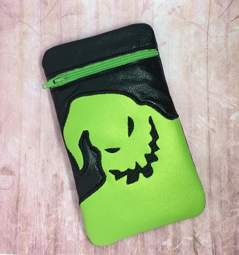 Oogie Boogie Zipper Bags BOTH SIZES Embroidery Design